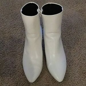 White Booties-ON TREND!!!